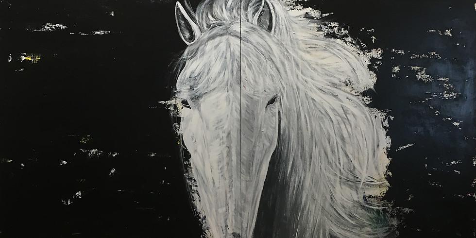 Opening Art Reception-Animals by artist Michelle Baker