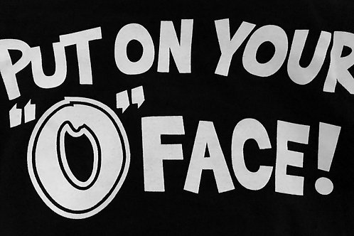 O-Face T-Shirt (Black)