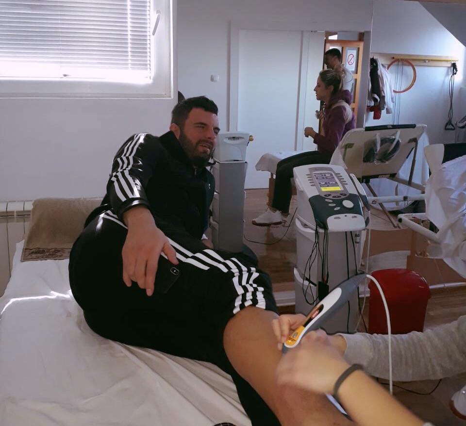 Vedran Blagojević golman na oporavku od povrede u Force Center rehab