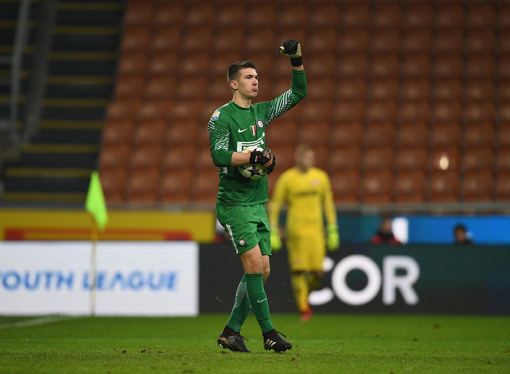 Vladan Djekic goalkeeper FC Inter