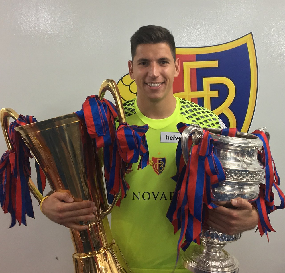 Djordje Nikolic golman u FC Basel