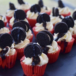 Oreo minis#poppincheesecakesllc#mini#fan