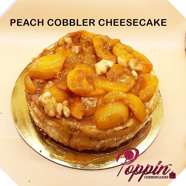PEACH COBBLER #peaches#cobbler#cheesecak