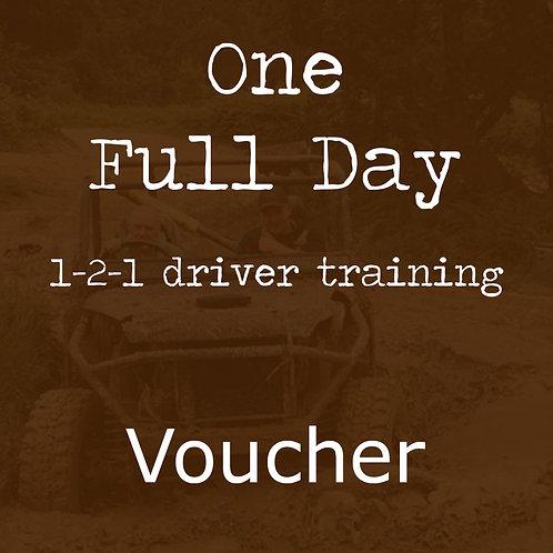 1-2-1 Training Full Day Voucher