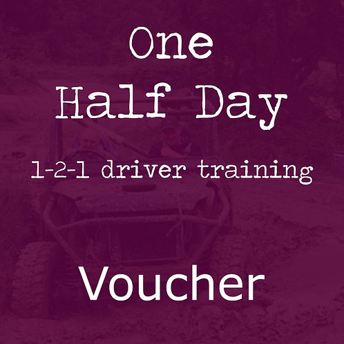 1-2-1 Training Half Day Voucher