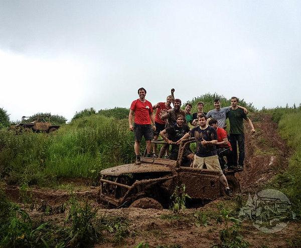 mud off road, muddy good fun