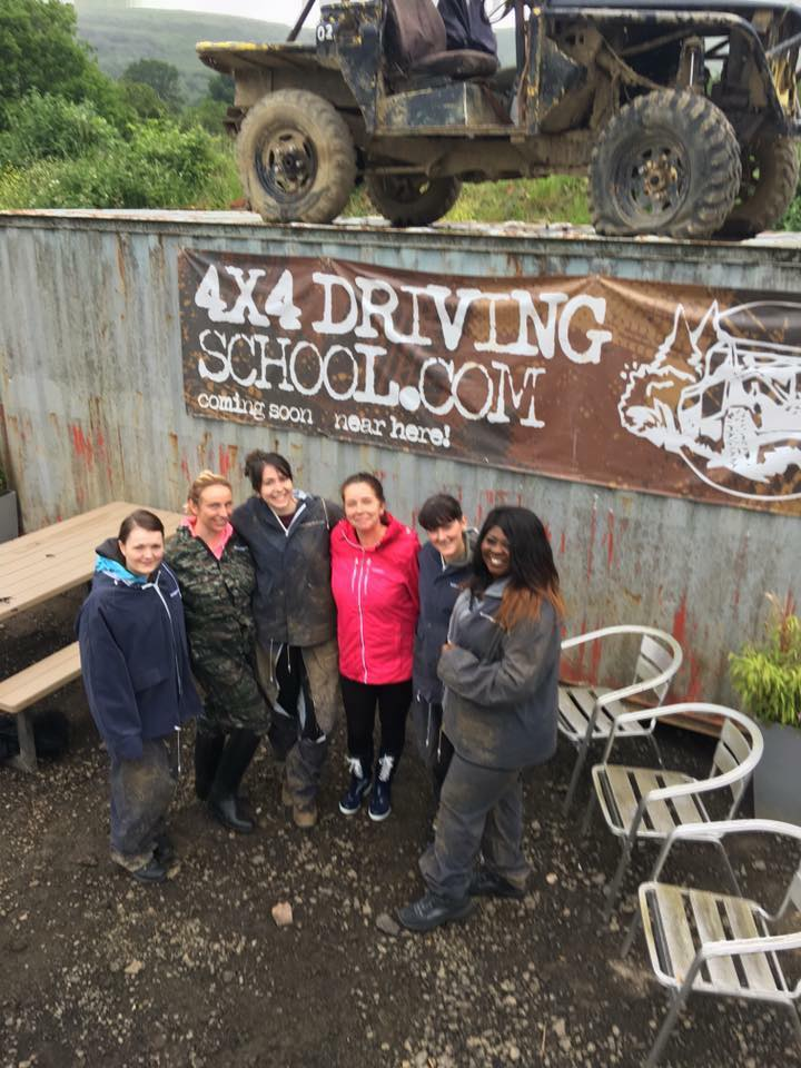 4x4 driving school cardiff South Wales - hen do