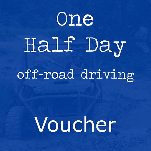 1 Person Half day Voucher