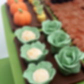 tlcb, that little cake boutique, cake topper, sugarcraft, vegetables, cauliflower, pumpkin, cake, cabbage, carrots, garden, allotment, chocolate, cake, birthday, celebration