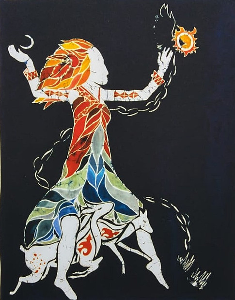#34 She who dances with the deer