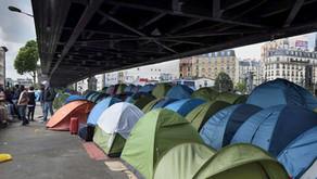 La crise migratoire dans le pays des droits de l'Homme
