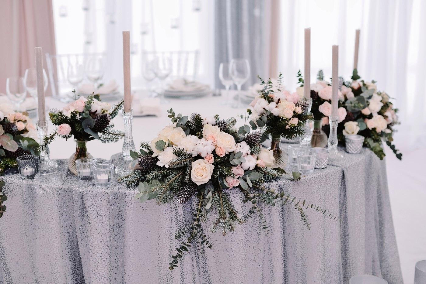 Цветочные свадебные композиции