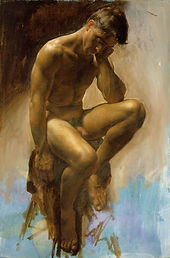 Collins Thinker Figurative Painting Exam