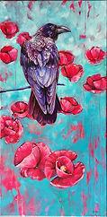 Fürch's Raven amoung Poppies.jpg