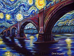 Daetwiler's Starry Night at Fernbridge