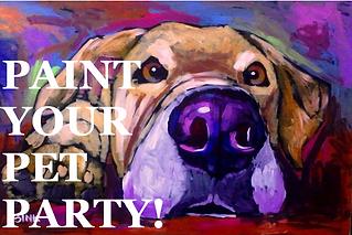 Paint Your Pet Party!