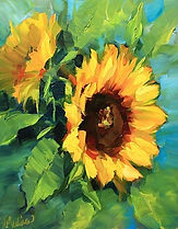 Medina's Warm Thoughts and Sunflowers.jp