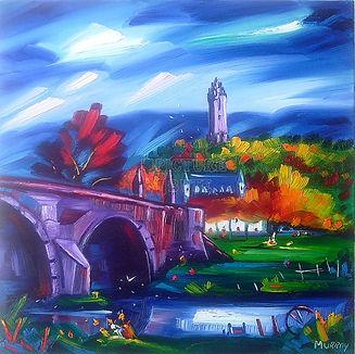 Murray's Sterling Bridge & Wallace Monum