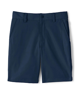 Lands' End Boys Active Chino Shorts - NAVY