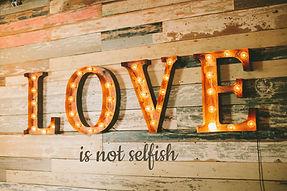 Love Is Not Selfish