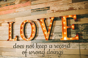 Love Does Not Keeps a Record of Wrong Doings