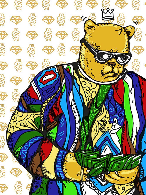 Biggie  - Signed Artist  Limited Edition Print - JC Rivera