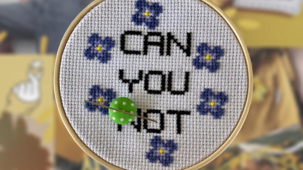 Fabric Polka Dot   Needle Minder