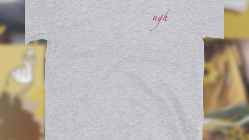Ugh   Embroidered T-Shirt