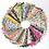 Thumbnail: Miniature Fabric Bundle   Set of 50