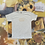 Thumbnail: Comfort over Fashion | Grey Hand EmbroideredT-shirt