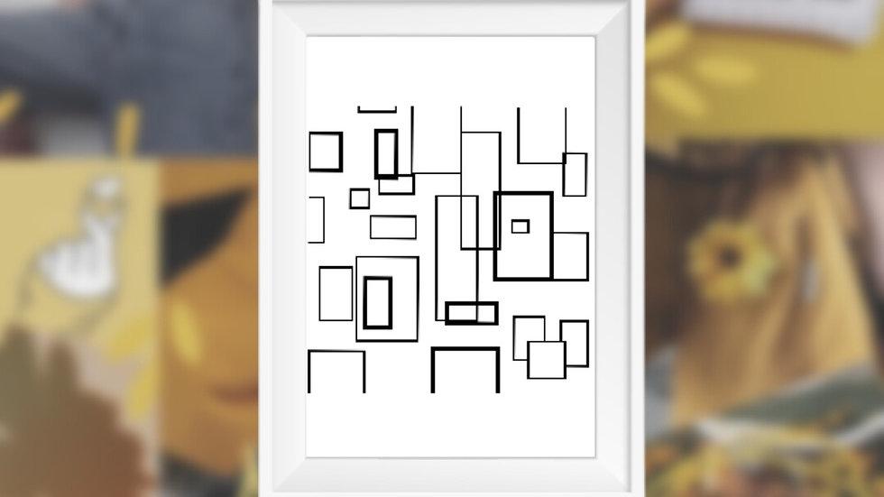 Geometric Shapes   Cross Stitch Pattern