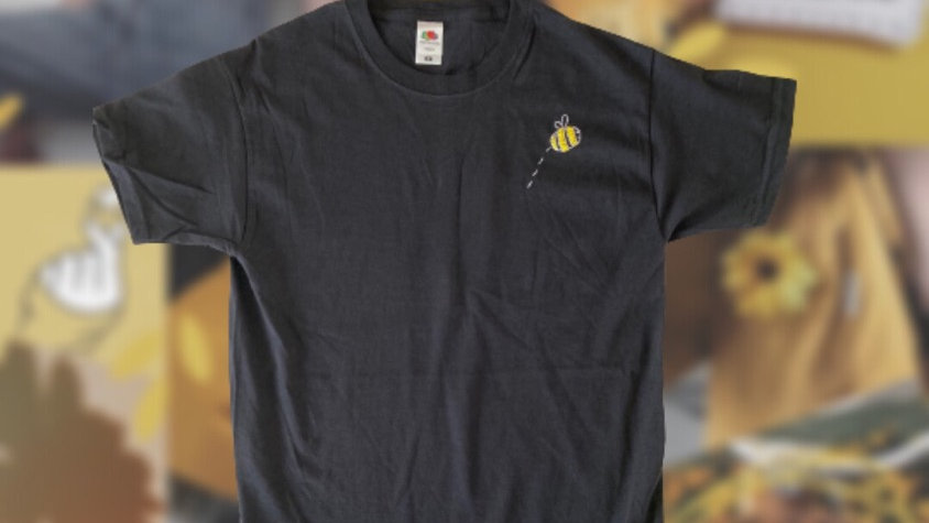 Bumblebee | Hand Embroidered T-shirt