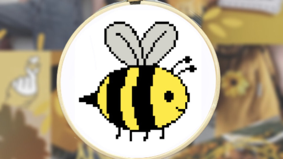 Cute Bumblebee | Cross Stitch Pattern