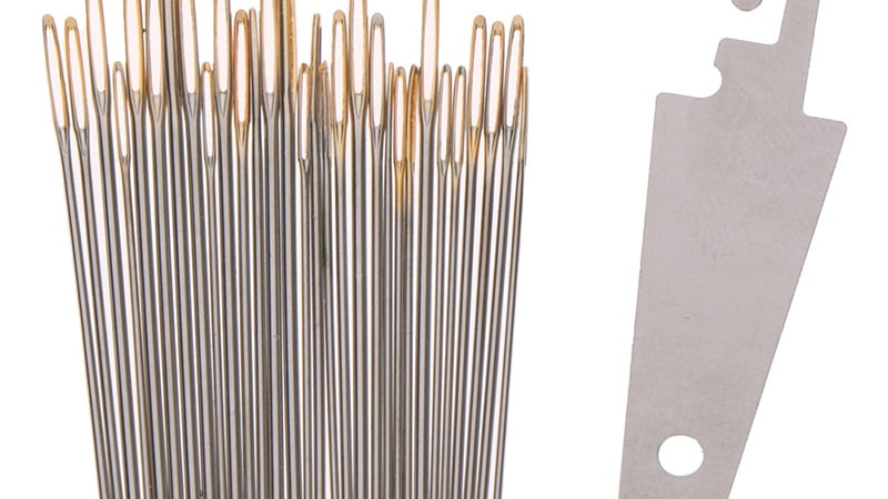 Metal Embroidery / Cross Stitch Needles | Set of 30