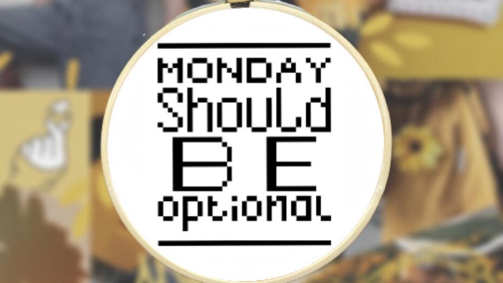 Monday Quote | Cross Stitch Pattern