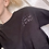 Thumbnail: You Go Girl | Black and Purple Hand Embroidered T-Shirt