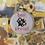 Thumbnail: Bee Proud   Rainbow Cross Stitch Hoop