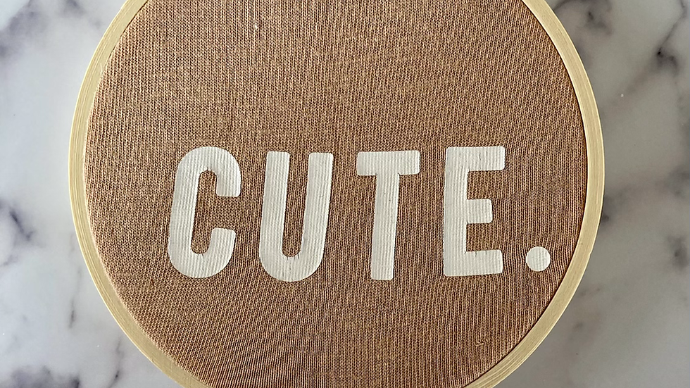Cute Sarcastic   Finished Hoop
