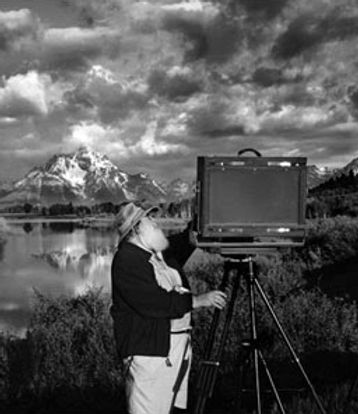 Clyde Butcher photographing Florida swamps