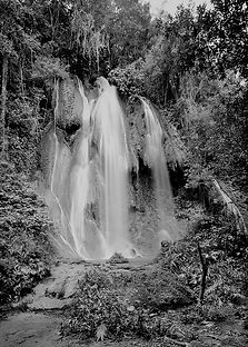 clyde butcher waterfall cuba