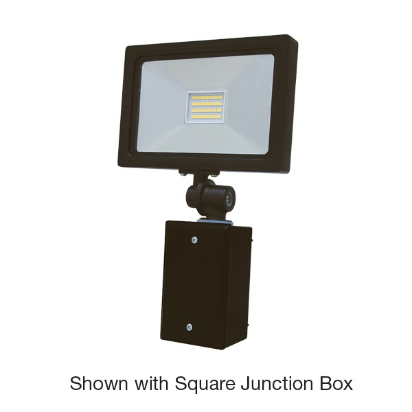 Knuckle with Square Junction Box