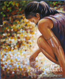 aala magicienne 20x24acrylique-massonite2003