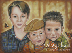 trio fraternel 12x16