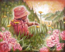 Jardin de rose 24x30