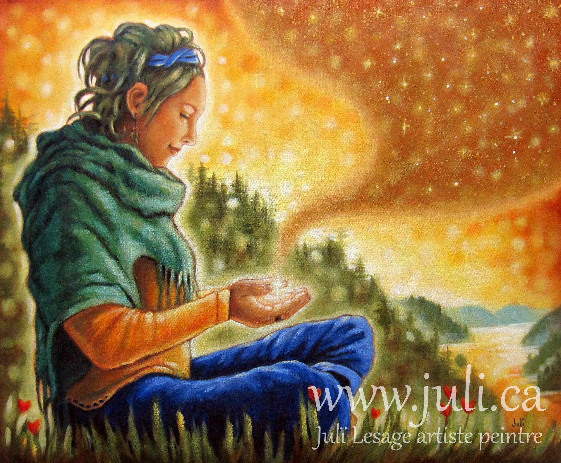purification divine 20x24