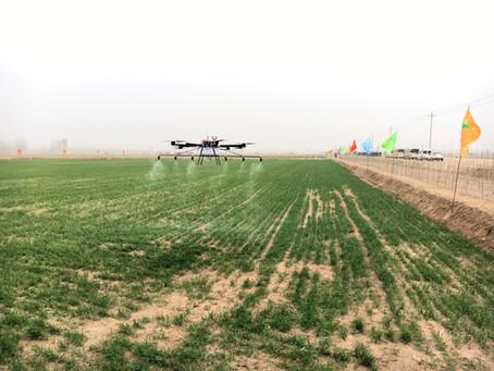Növényvédőszer-gyártókat segít a Clue Drone a drónos permetezéshez szükséges tesztek elvégzésében