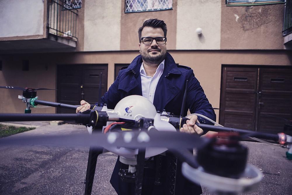 Clue Drone TTA permetező drón