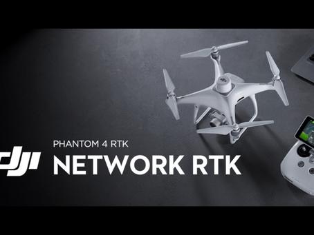 RTK támogatást kapott a DJI Phantom 4