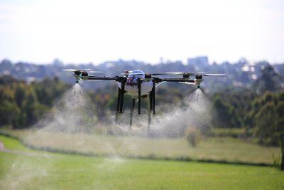 Drónos permetezés I. rész - A kezdetek