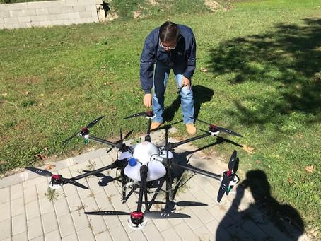 Drónos permetezés II. rész - A kiképzés